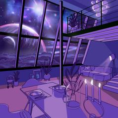 Outerspace Loft Concept