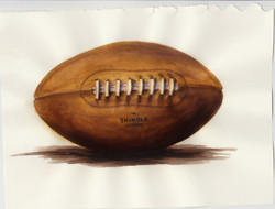 Shinola Football Watercolour