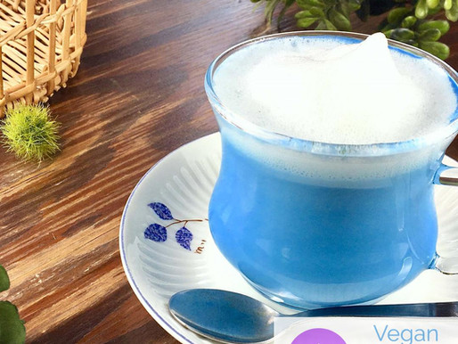 Butterfly Pea Blue Latte