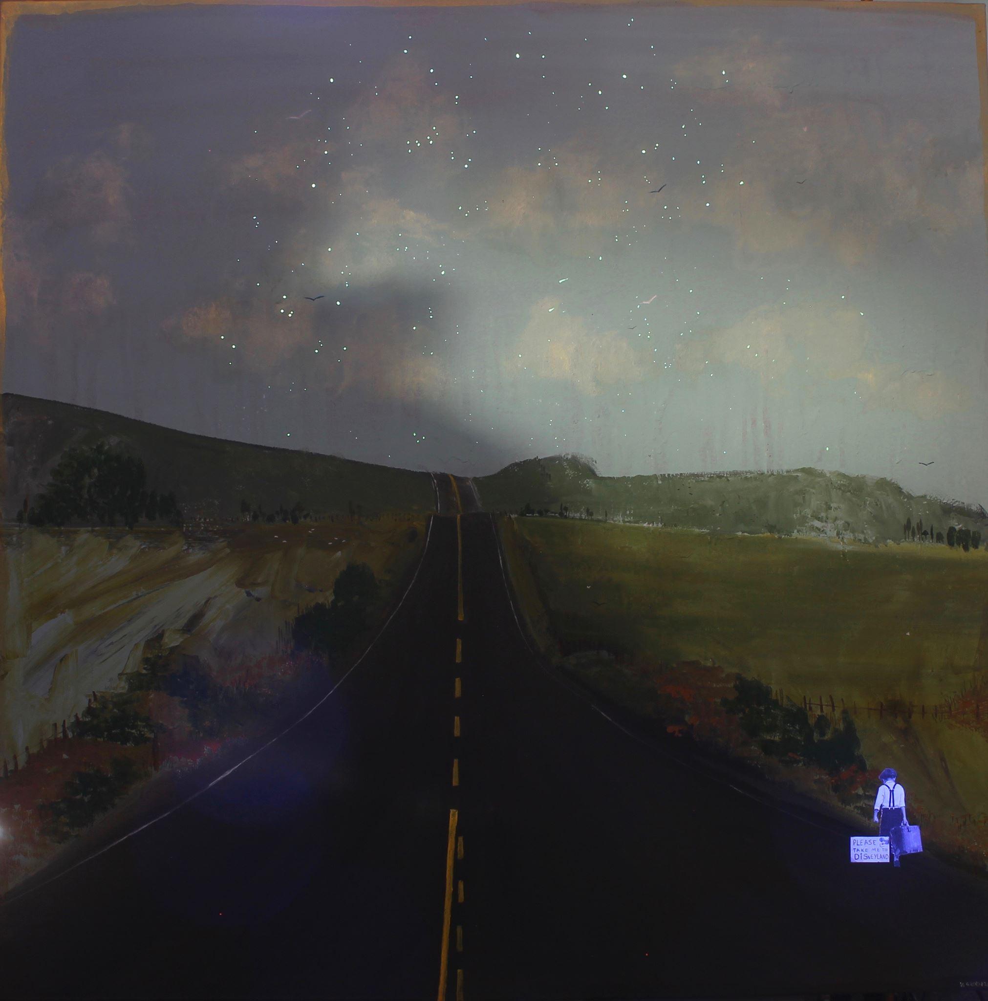 Road Trip - Under UV Light
