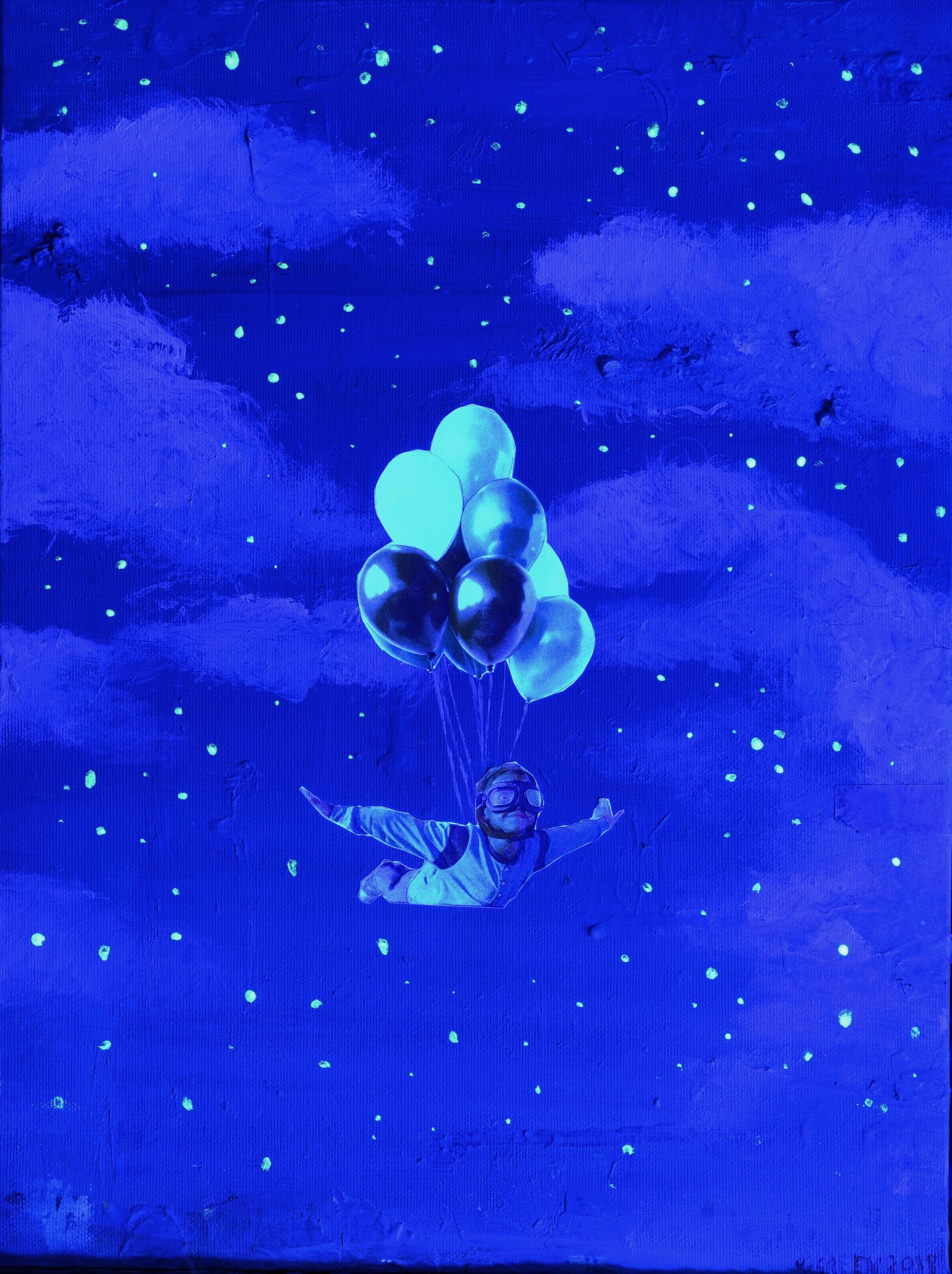 Flying - Under UV Light