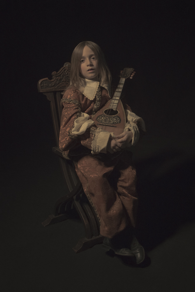 The Young Minstrel