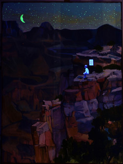 The lie of the land - UV light