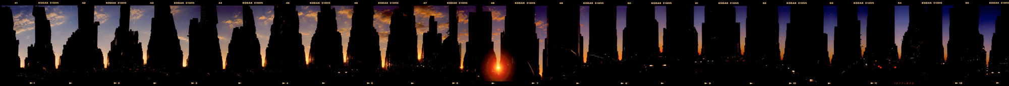 Manhattan Sunset 1999