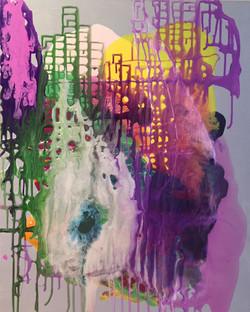 Violet laden muse