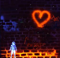 Brick Wall - UV Light