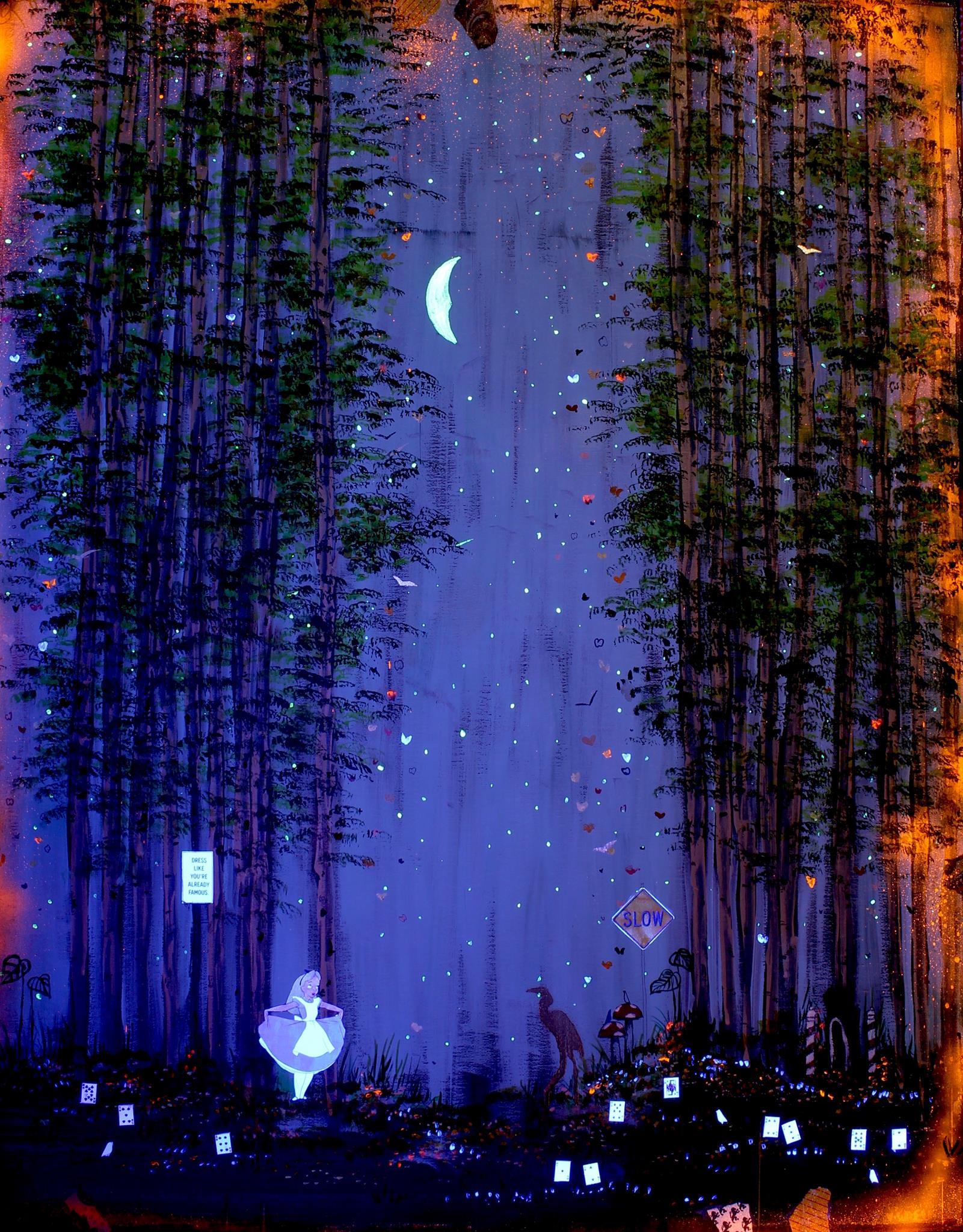Starring Alice - UV Light