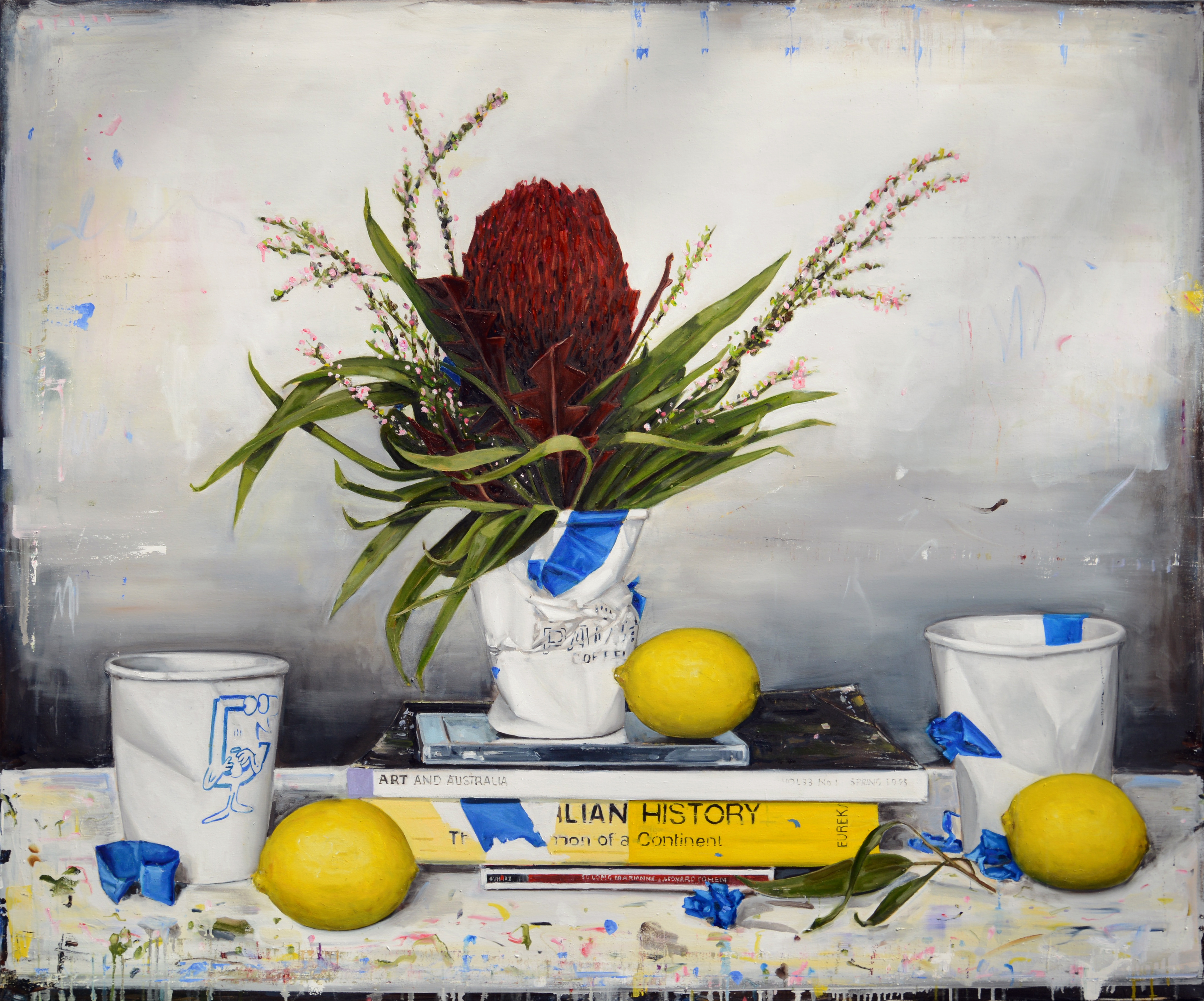 F BIVIANOStill life with lemons (Same as
