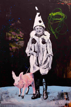 LITTLE PIERROT AND PIG