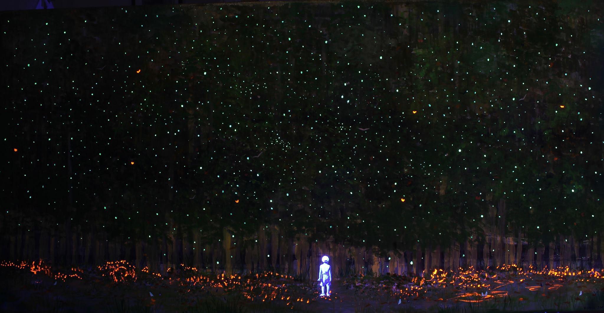 Forest UV Light