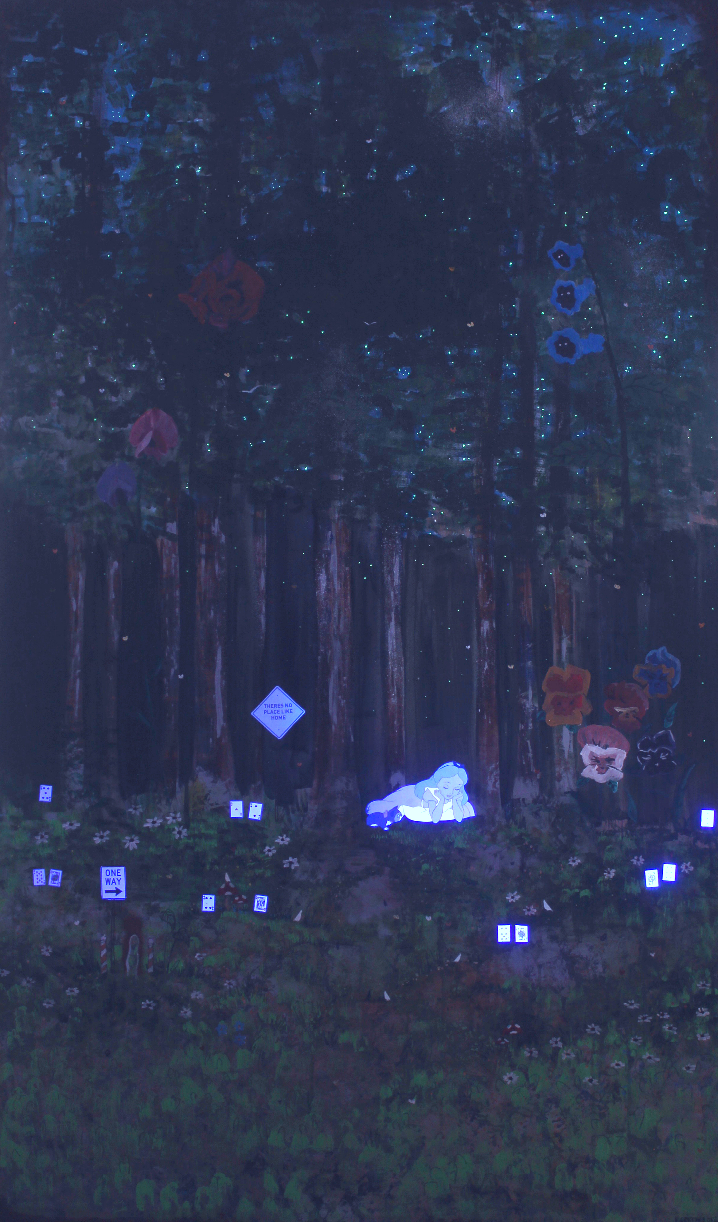 Alice's Place - Under UV