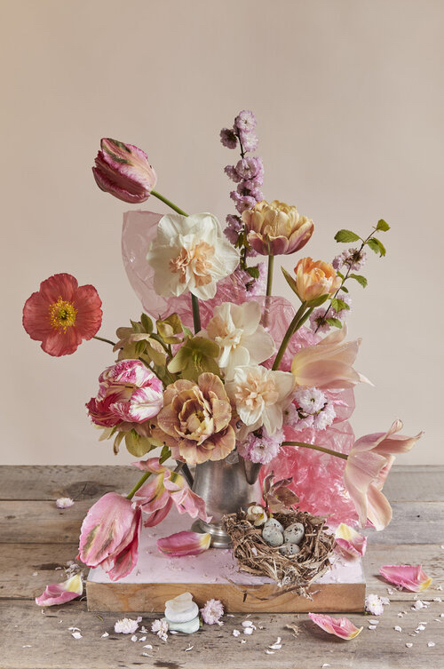 Tulips Pink & Plastic - /10
