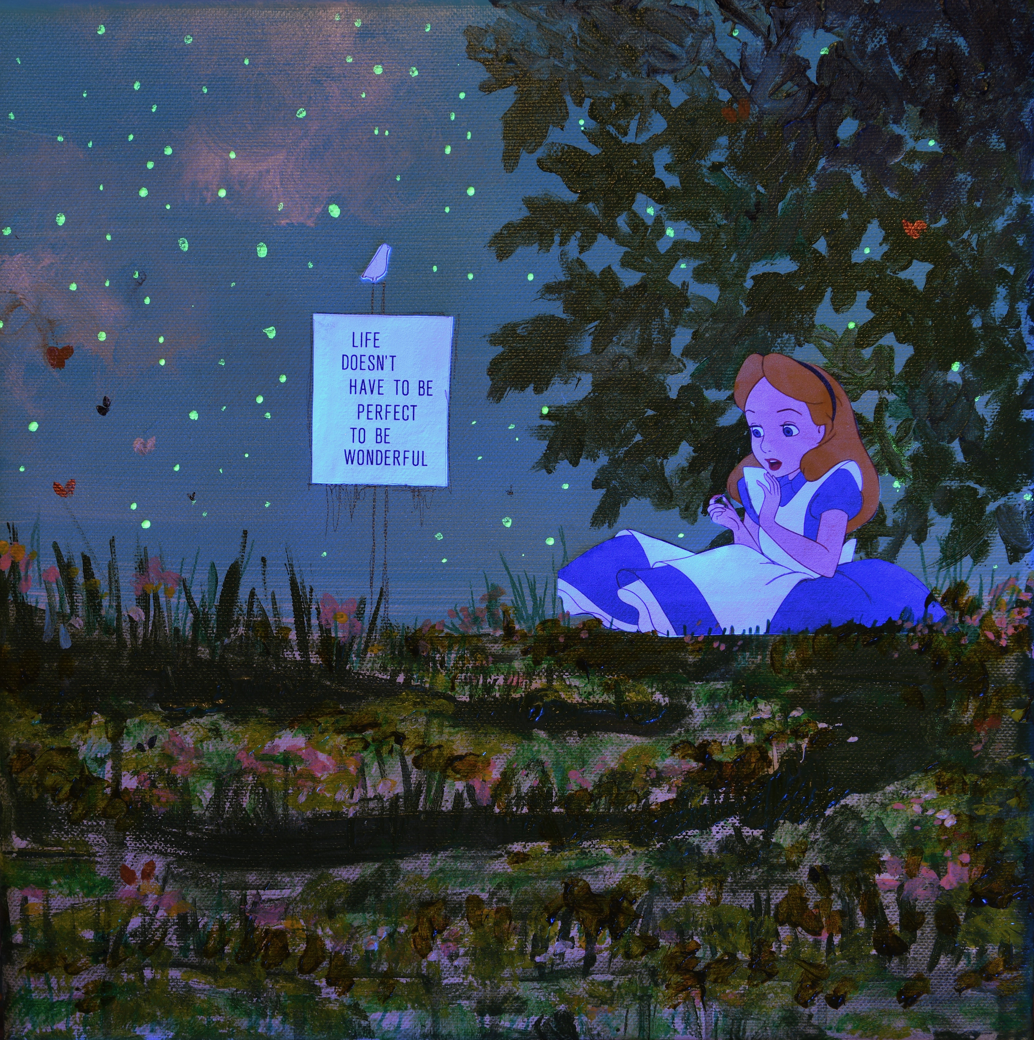 Alice - Under UV Light