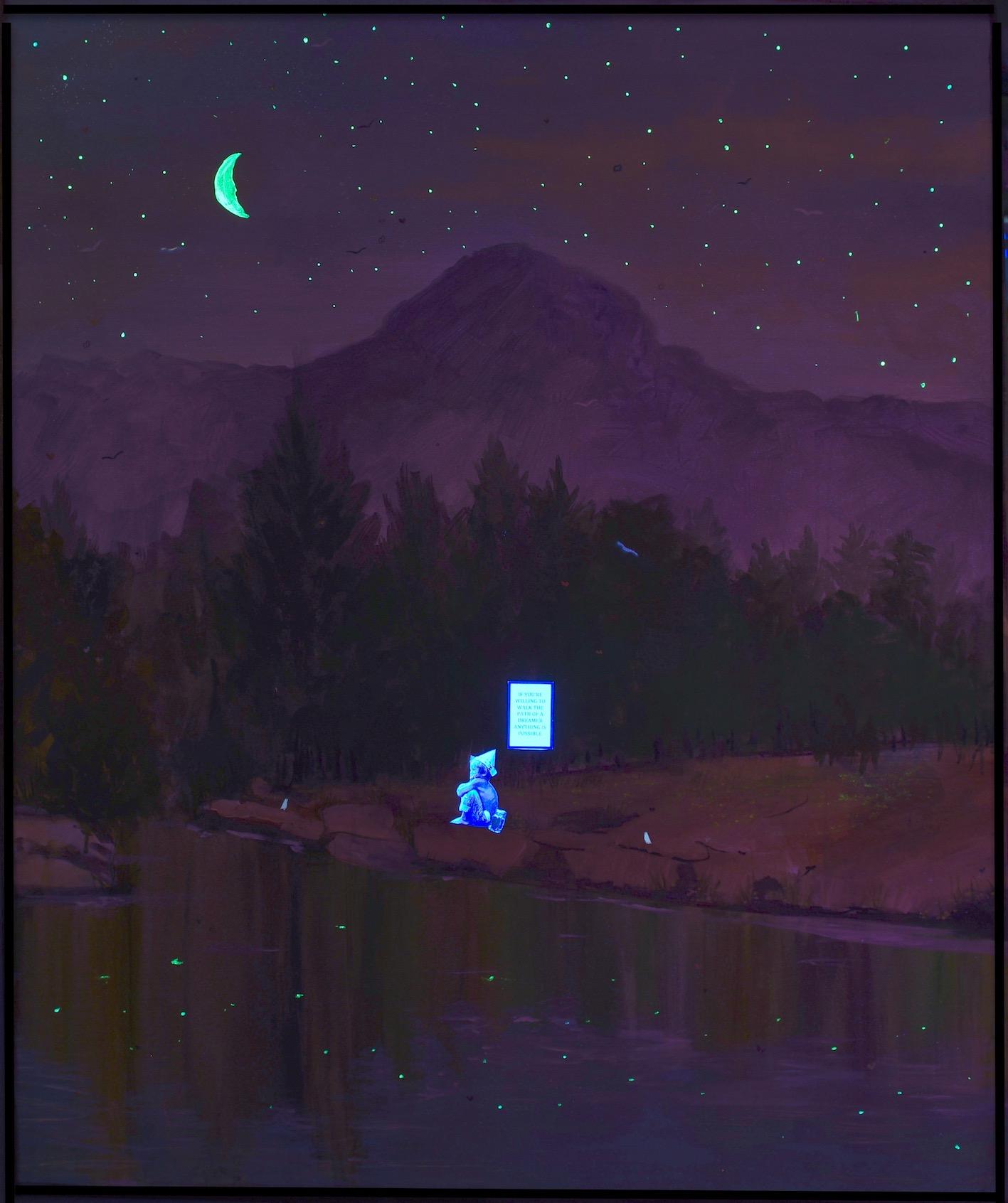 Reflections - Under UV Light
