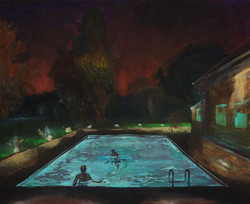 Nightswimming - Andrea Gallos House