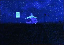 Mission Control - Under UV Light