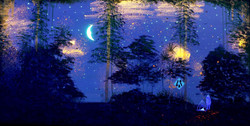 Campfire UV Light