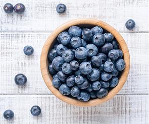 Blue Blueberries Food Fact Facebook Post