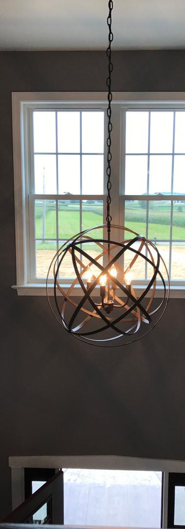New Home Foyer Light