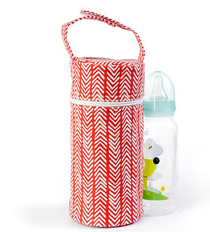 Bottle Tote - Red