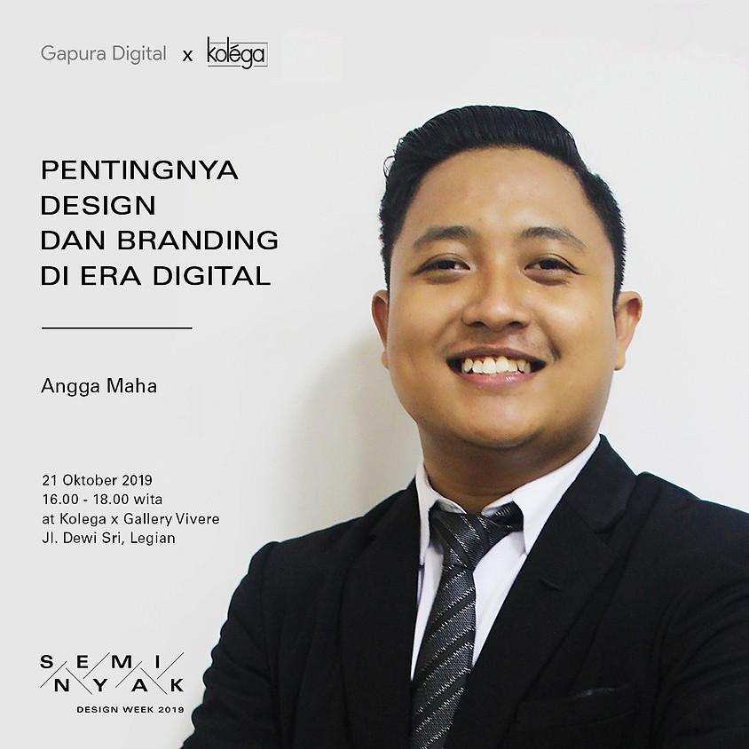 Workshop: Pentingnya Design & Branding di Era Digital