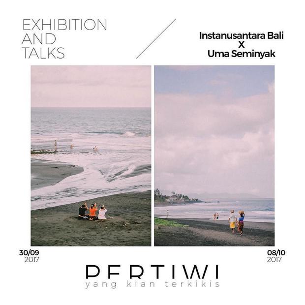 """Instanusantarabali x Uma Seminyak Exhibition & Talks """"Pertiwi, yang Kian Terkikis"""""""
