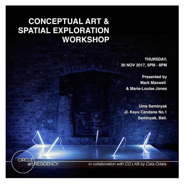 CONCEPTUAL ART AND SPATIAL EXPLORATION WORKSHOP