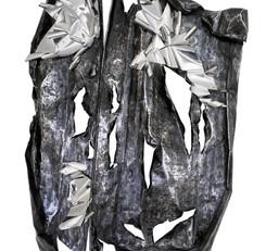 Pasupati #2, 170 x 115 x 10 cm, Iron Pla