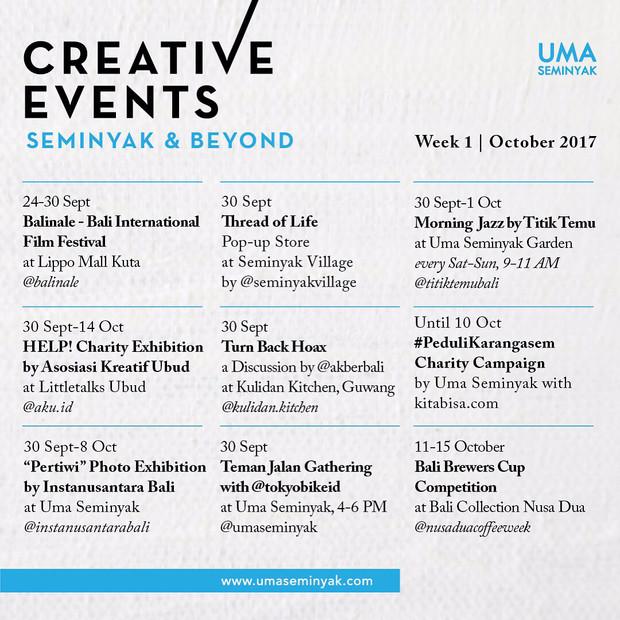 Creative Events #pedulikarangasem