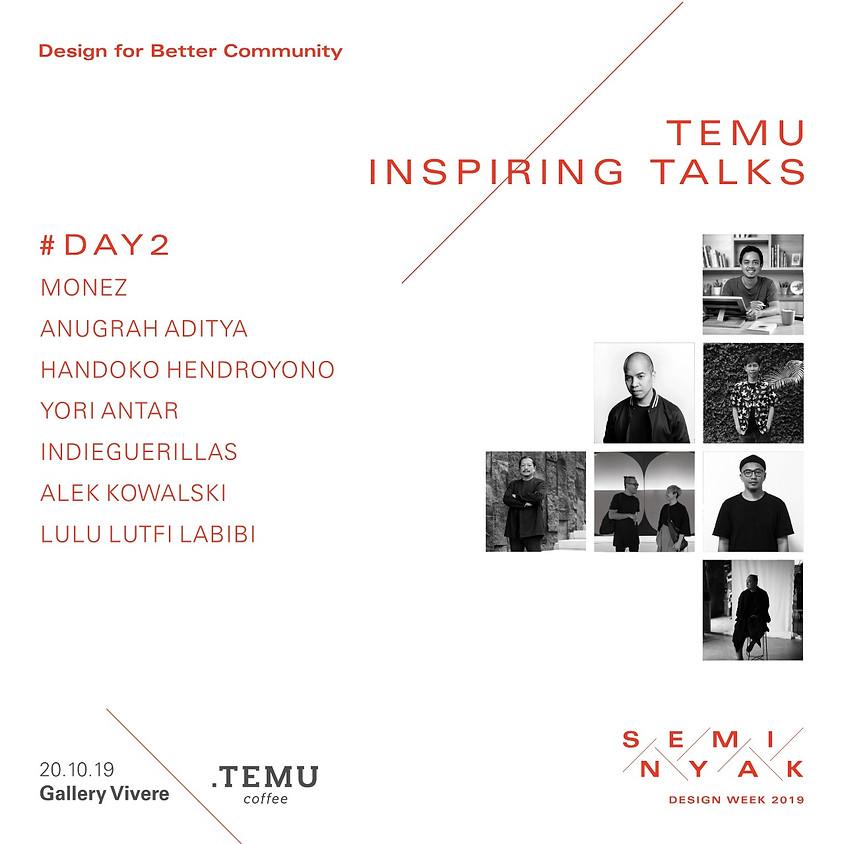 Temu Inspiring Talks  Day 2