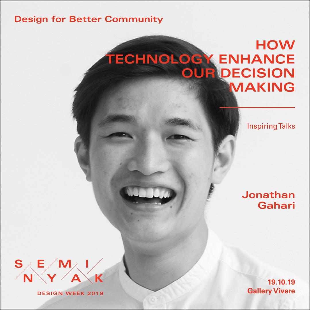 Inspiring Talks - Jonathan Gahari