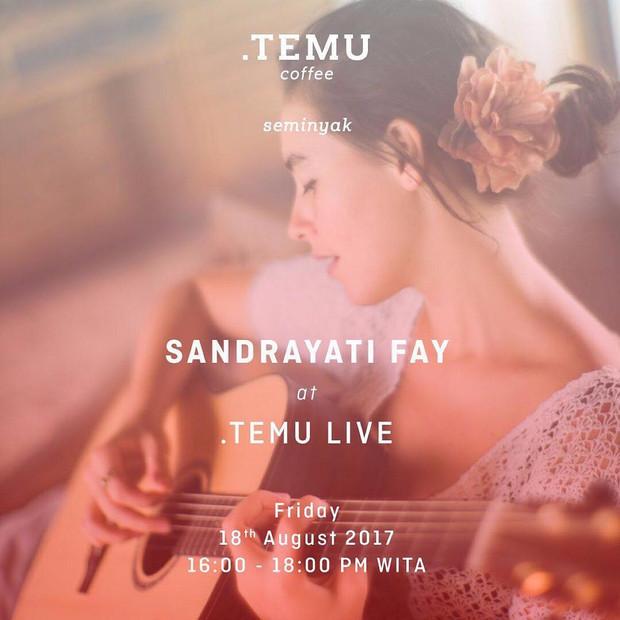 Temu live with Sandrayati Fay