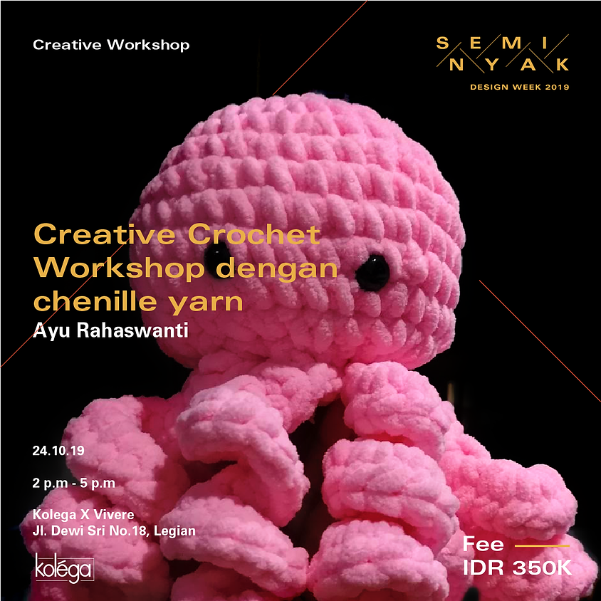 Creative Crochet Workshop with Chenille Yarn