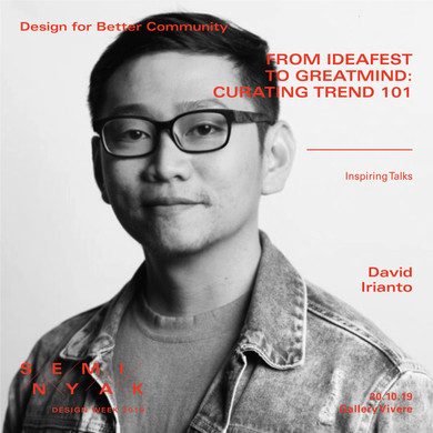 Inspiring Talks - David Irianto