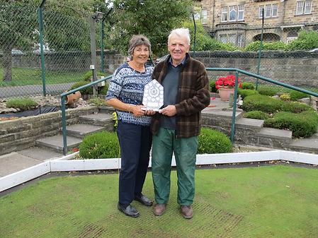 Ann & Derek with the Harrogate In Bloom