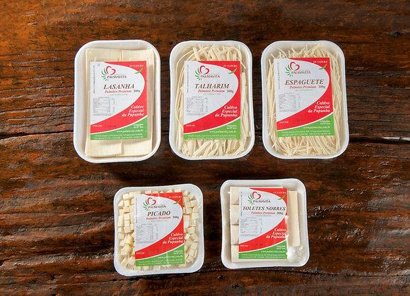 Combo Gourmet PalmaVita - 3 produtos linha gourmet + 1 Tolete