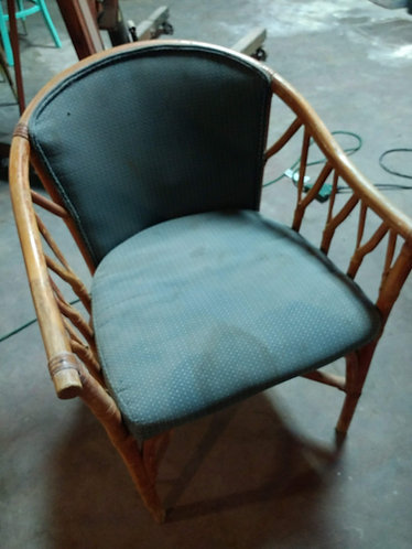 Rattan and Bamboo Lounge Chairs