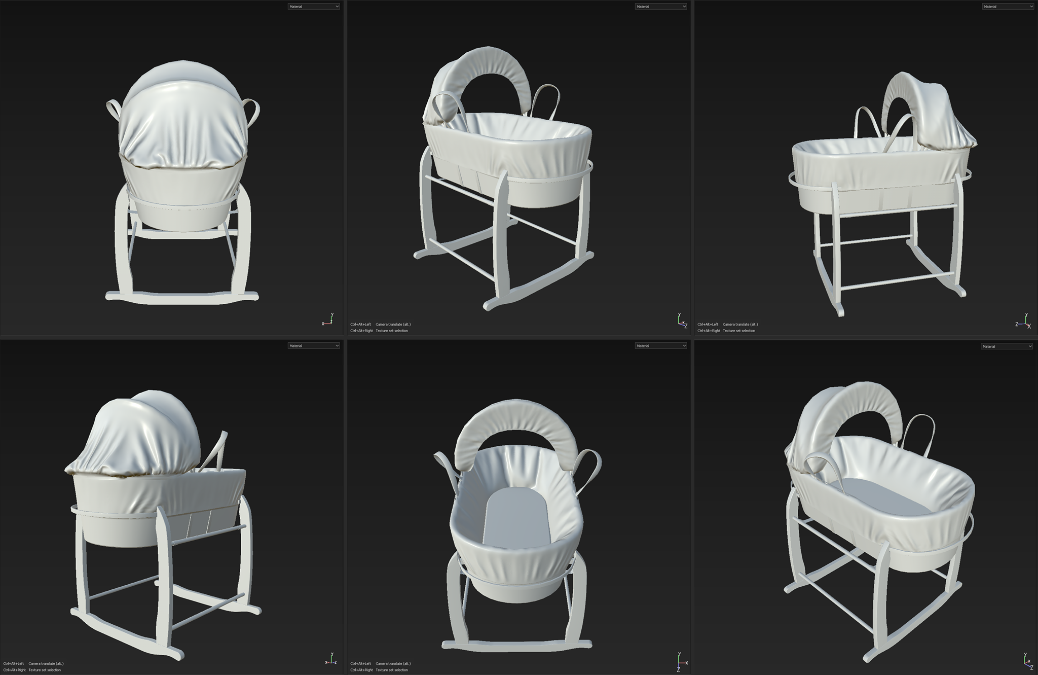Moses_Basket_FinalBake_Lowpoly
