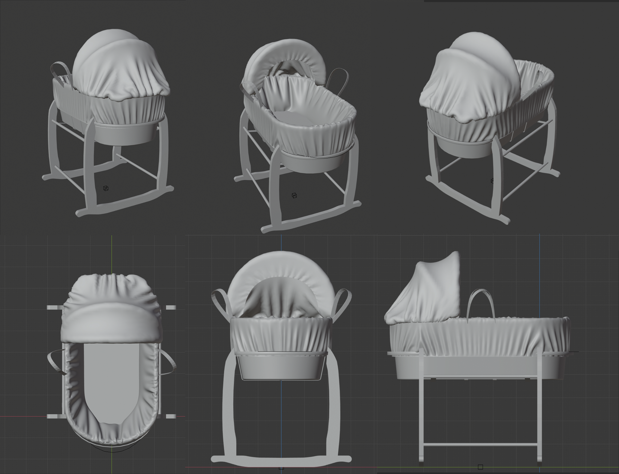 Moses_Basket_HighPoly