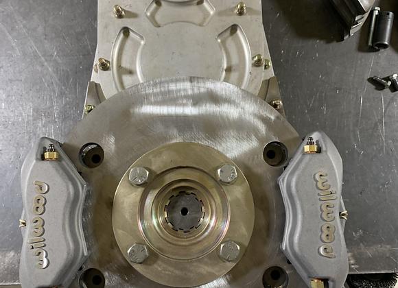 Fti transfer case brake set up