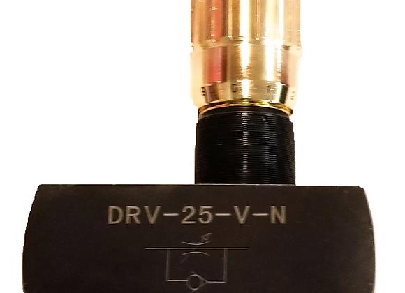 "Hydraulic adjustable variable flow control valve 1 1/4"" Port"