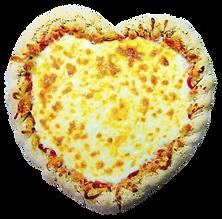 The Great Plains Sauce & Dough Company heart-shaped pizza