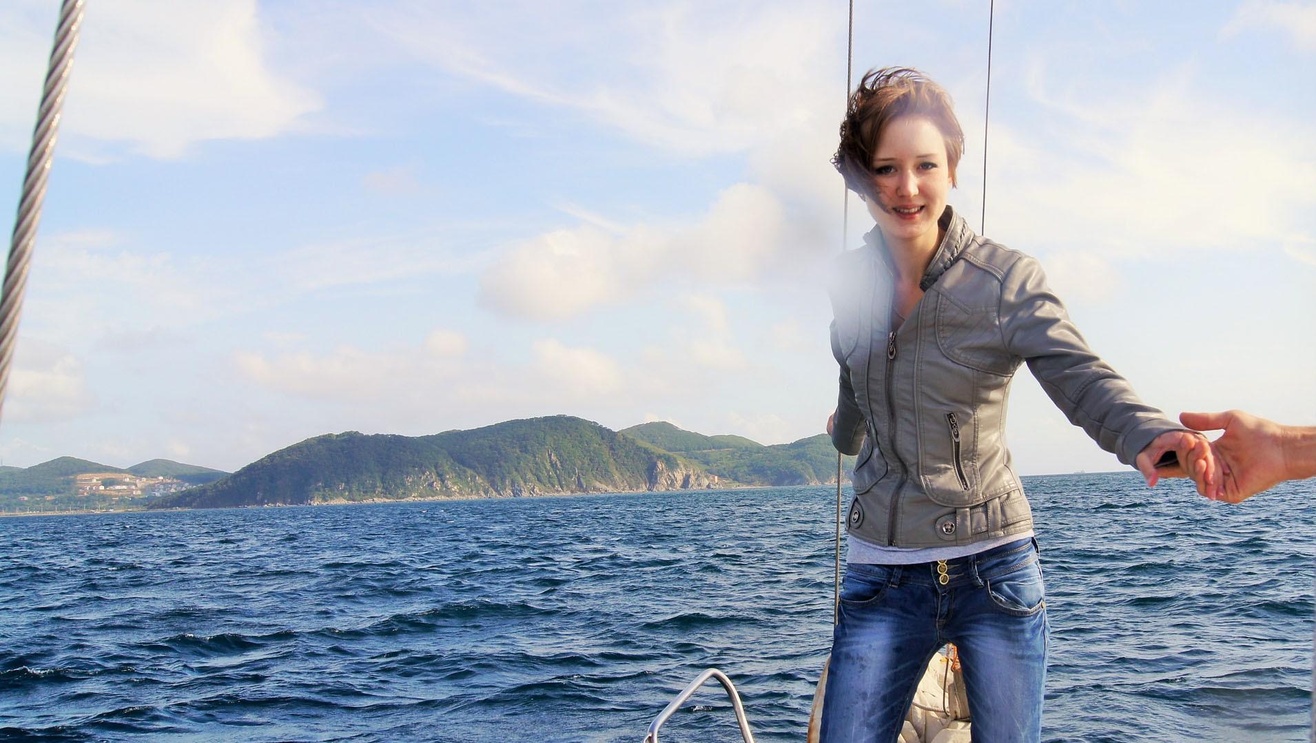 ощутить свежесть морского ветра