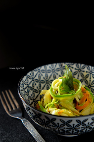 Easy Carrots & Zucchini Stir Fry