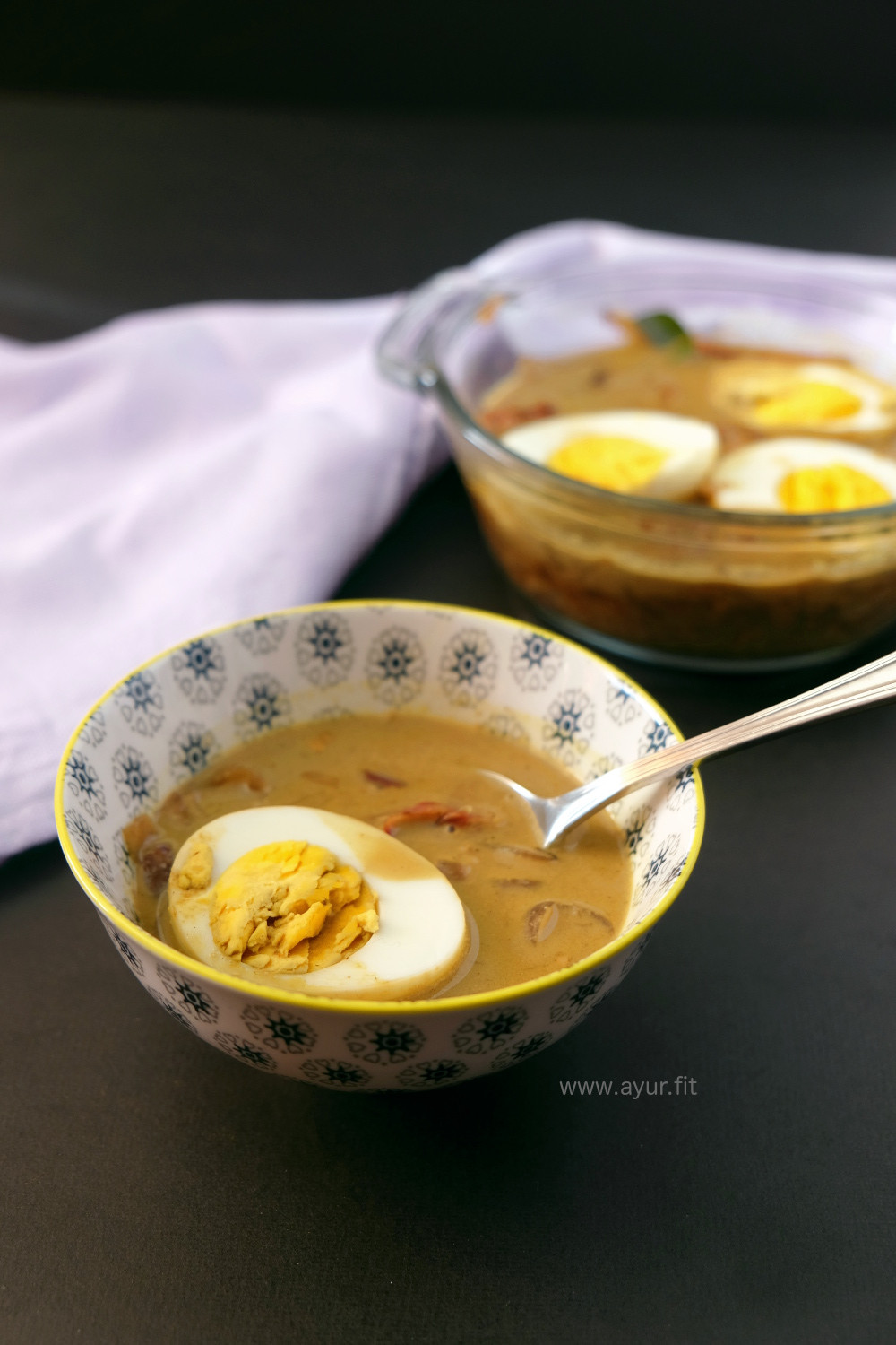 Coconut Egg Curry, Kerala Style