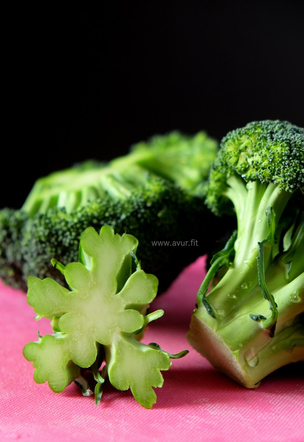 Broccoli Cross-Section