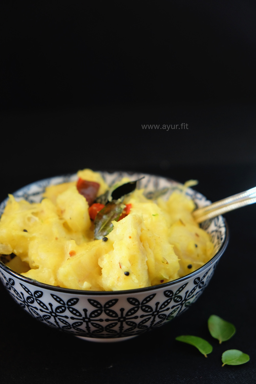 Golden Tapioca Recipe/ Kappa Vevichathu