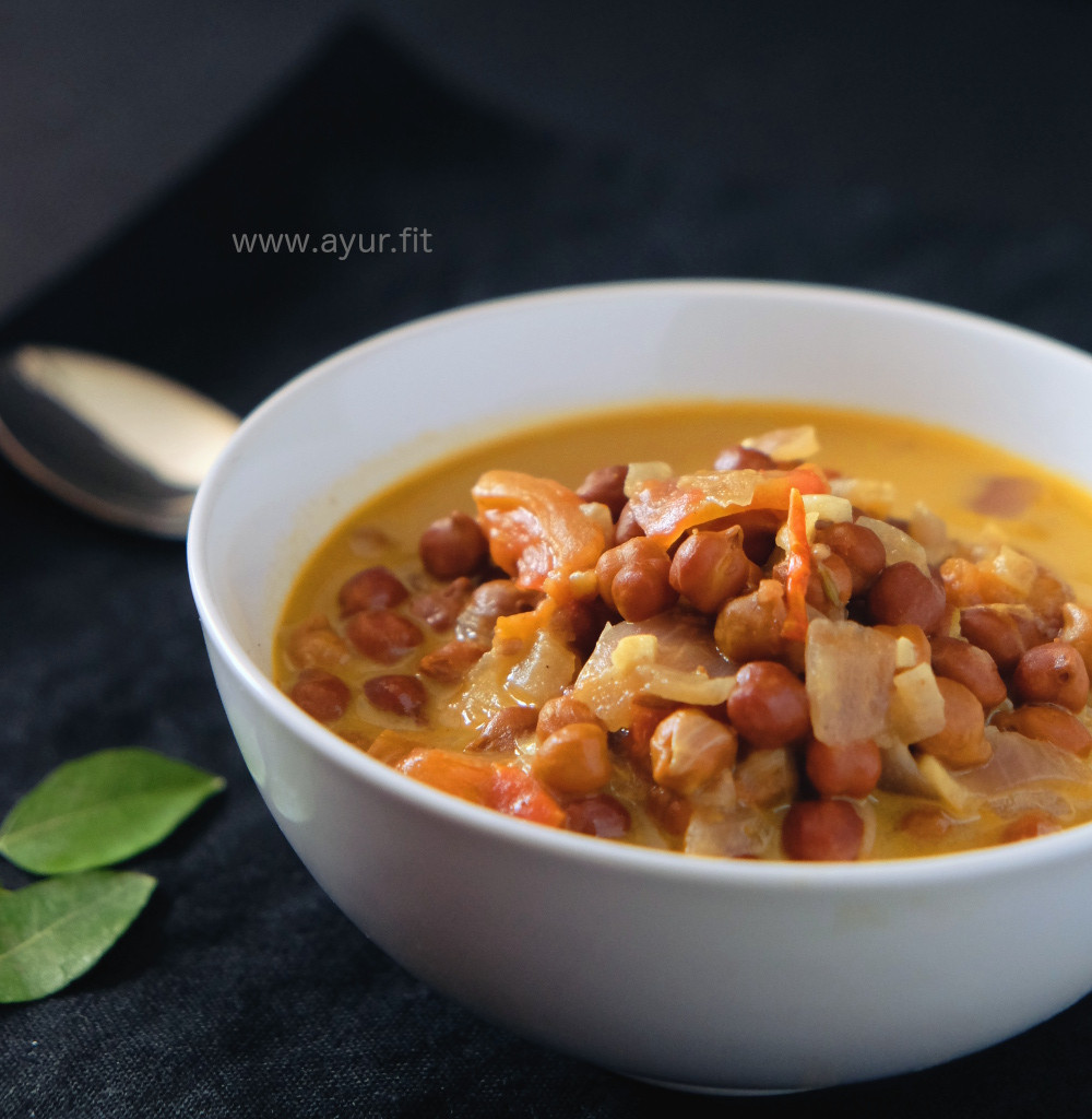 One Pot Masala Channa Curry