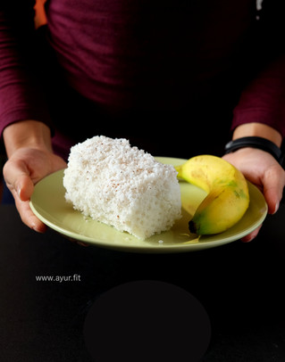 Steamed Rice Cake/ How to Make Puttu