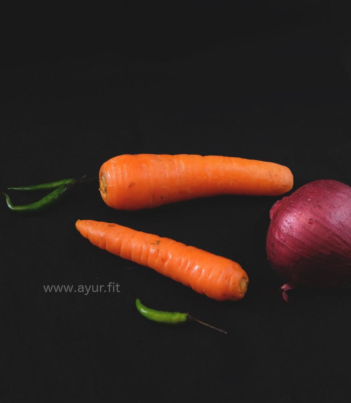 Carrot Pachadi Ingredients